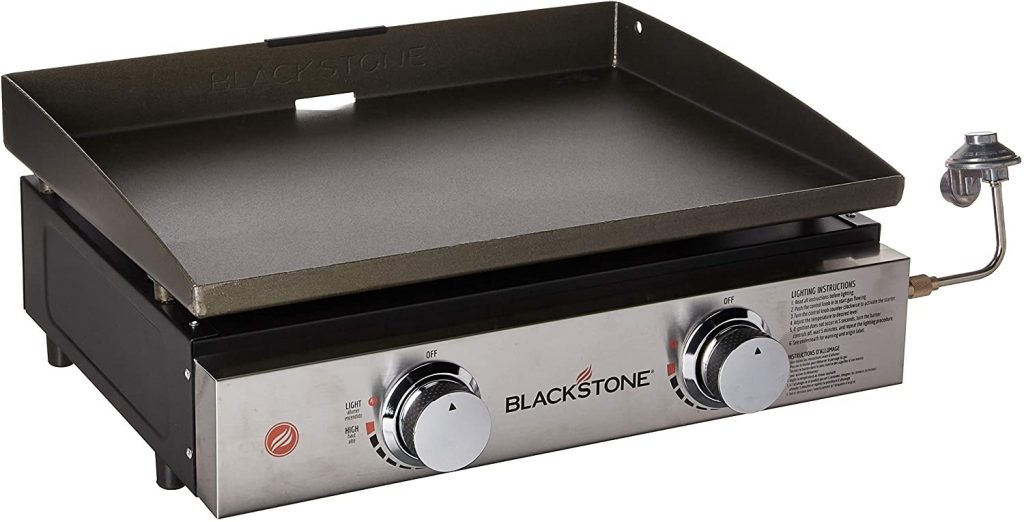 1. Blackstone Tabletop Portable Gas Griddle