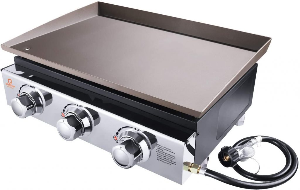 9. OT QOMOTOP Gas Griddle