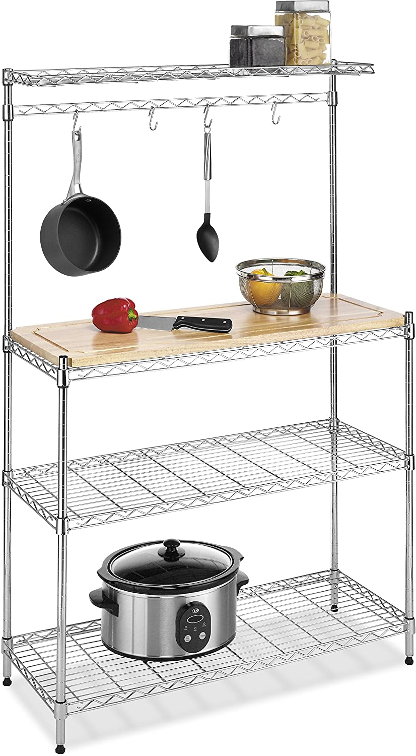 1. Whitmor Supreme Baker's Rack