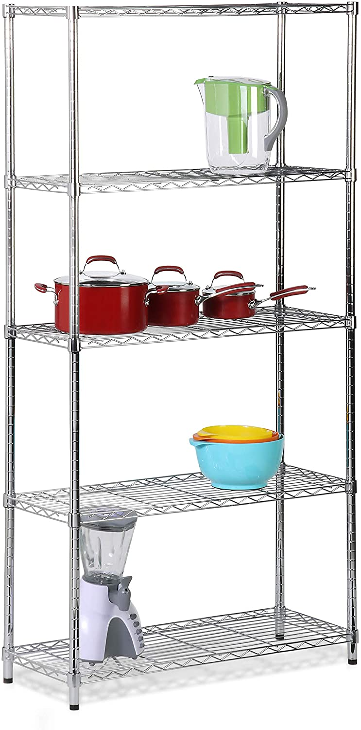 6. Honey-Can-Do Storage Shelving Unit