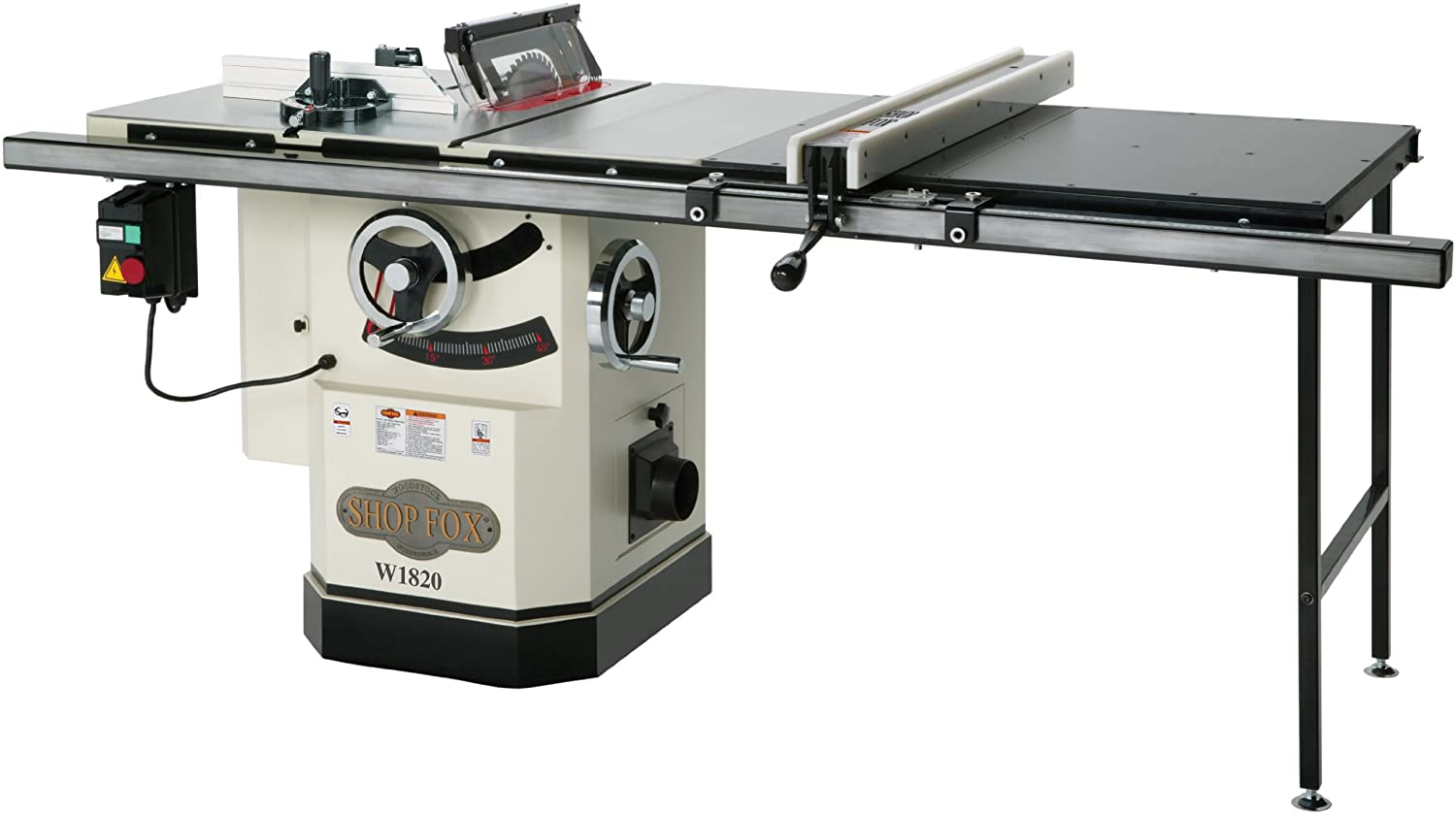 6. Shop Fox 10-Inch Table Saw