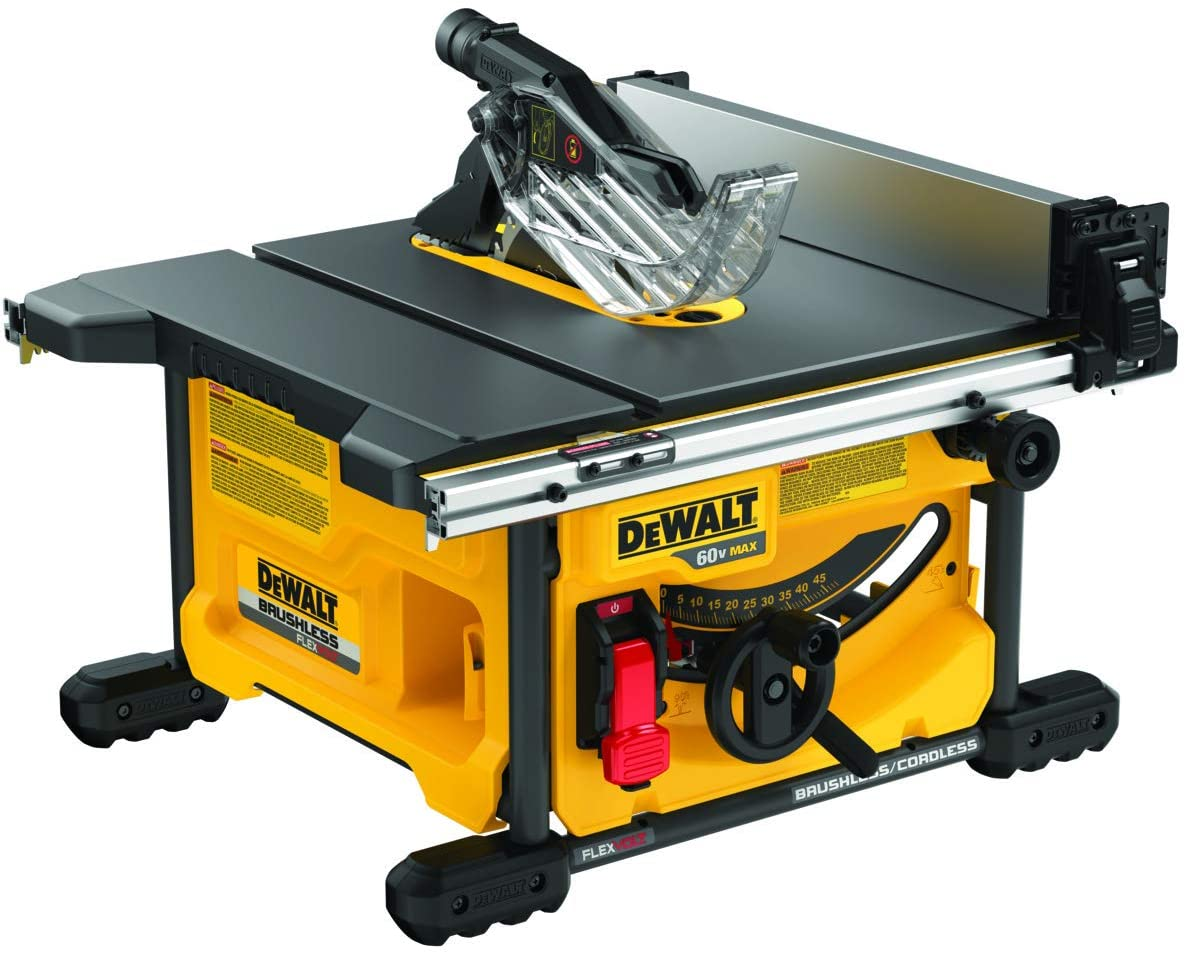 8. DEWALT FLEXVOLT Table Saw