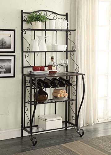 8. RAAMZO 5-Tier Kitchen Bakers Rack