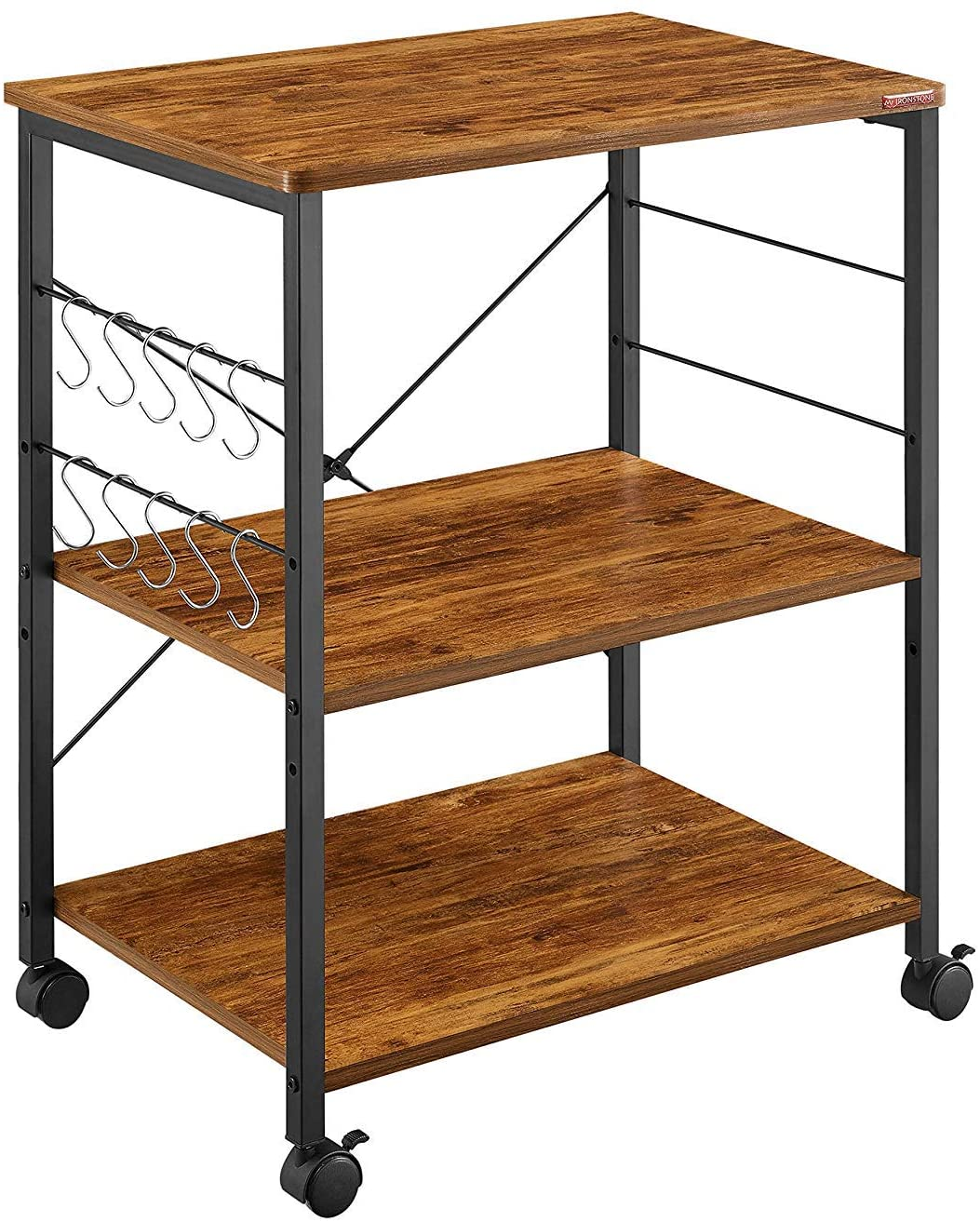 7. Mr IRONSTONE Rolling Bakers Rack