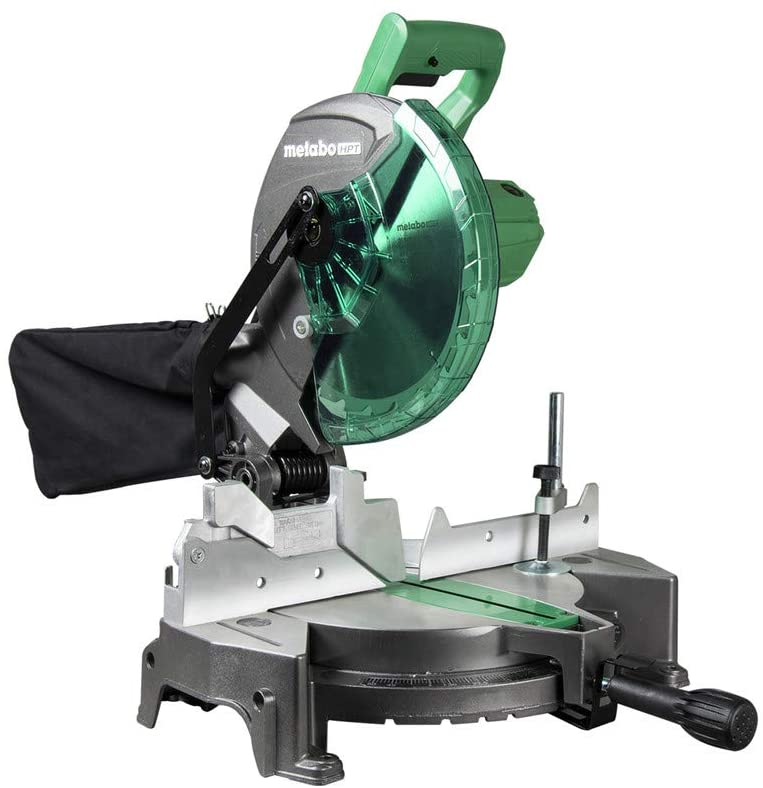1. Metabo HPT Compound Miter Saw