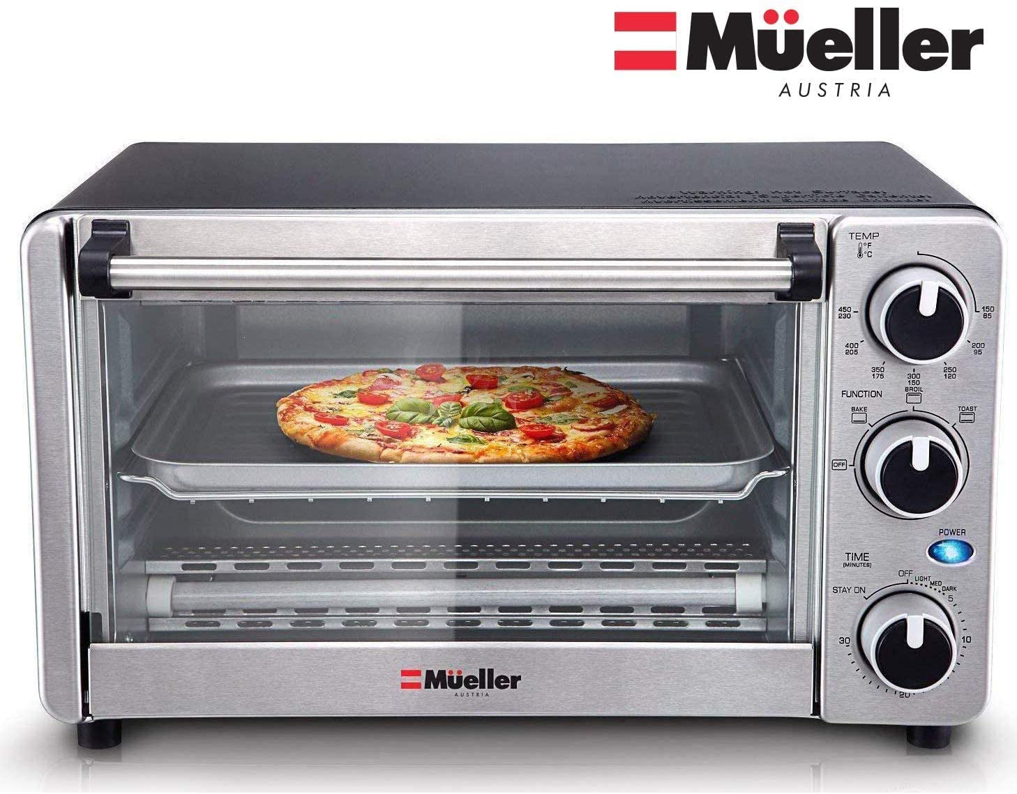 1. Mueller Multi-function Toaster Oven