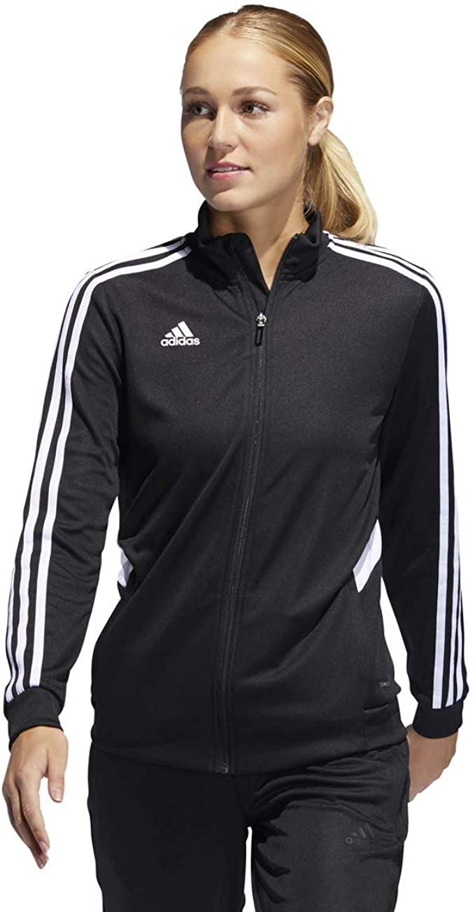 6. adidas Women's Alphaskin Tiro Jacket