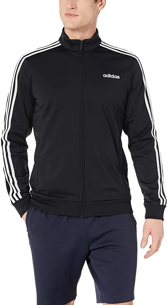 1. adidas Men's Essentials Tricot Track Jacket
