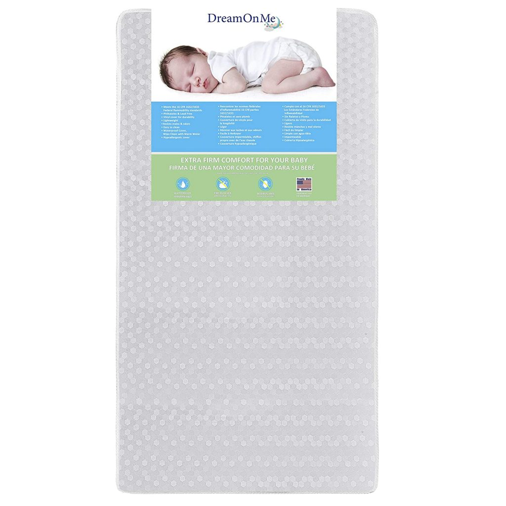 4. Dream On Me Standard Crib Mattress