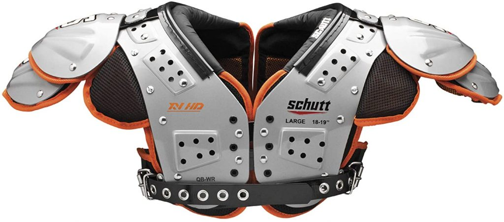 2. Schutt Sports Football Shoulder Pads