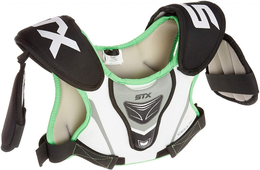 8. STX Youth Boy's Lacrosse Shoulder Pad