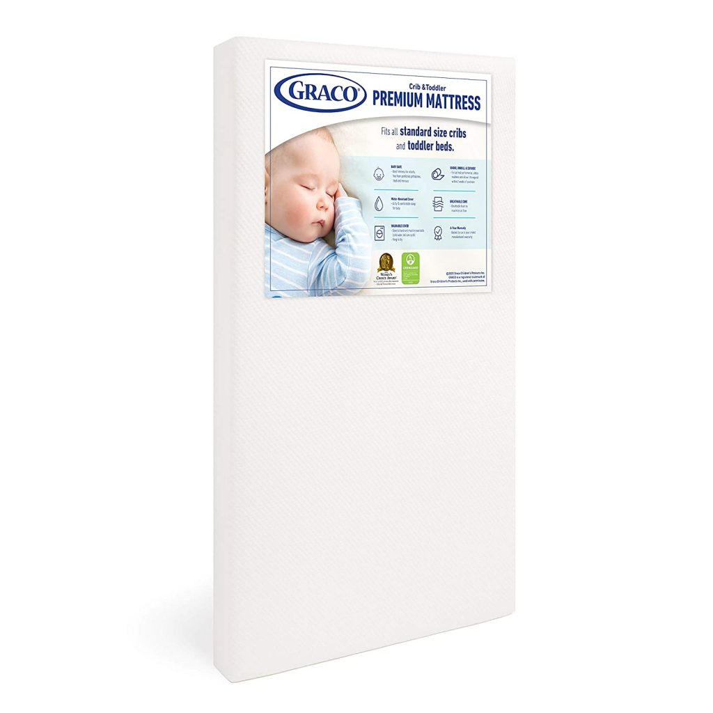 1. Graco Premium Foam Crib Mattress