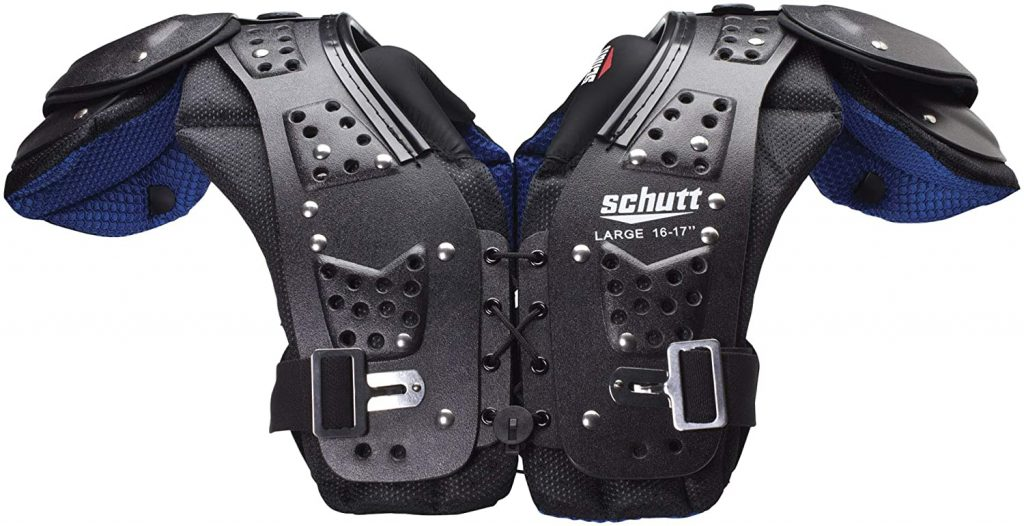 6. Schutt Mid Flex Youth Shoulder Pad