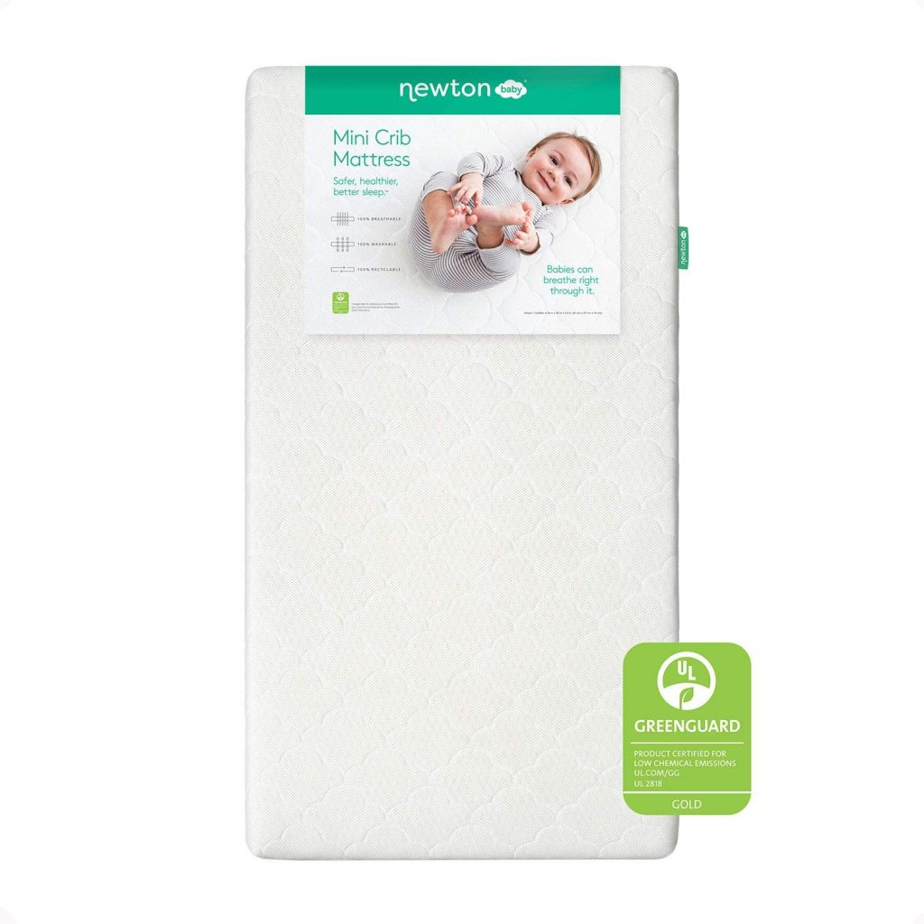 8. Newton Baby Mini Crib Mattress