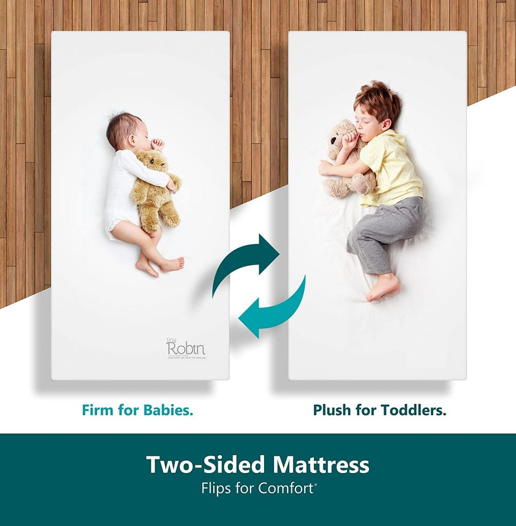 7. Moonlight Slumber Breathable Baby Crib Mattress