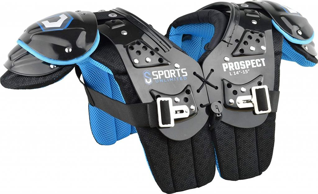 9. Sports Unlimited Youth Football Shoulder Pad