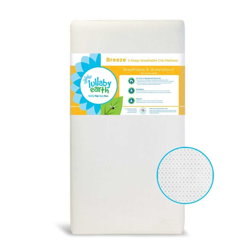 10. Lullaby Earth Breathable Crib Mattress
