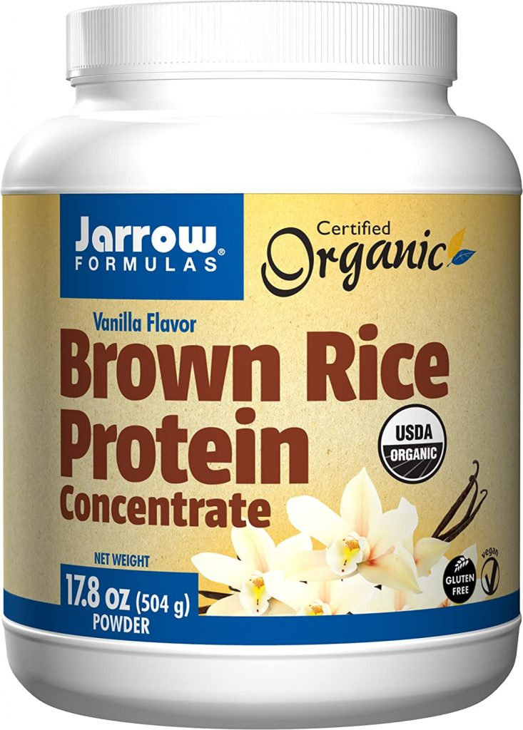 3. Jarrow Formulas Brown Rice Protein