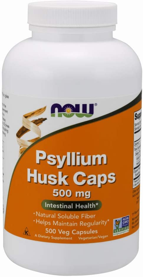 1. NOW Supplements Psyllium Husk Caps