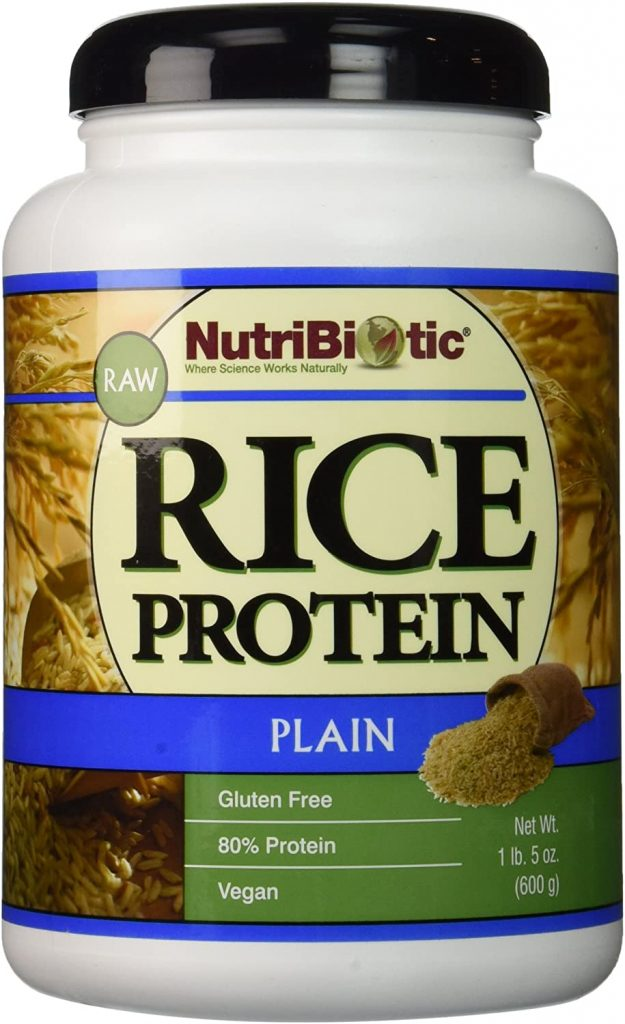 8. NutriBiotic Vegan Rice Protein
