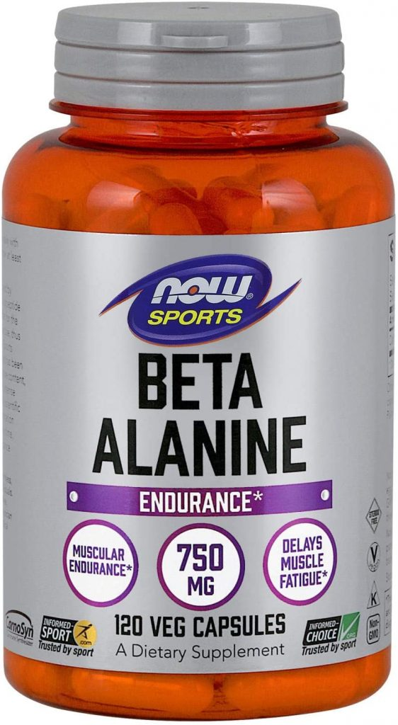 3. NOW Sports Nutrition Beta-Alanine