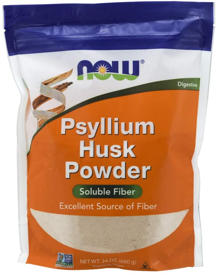 5. NOW Foods Supplements Psyllium Husk Powder