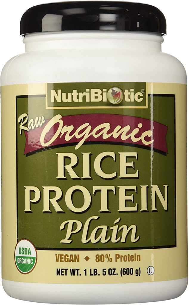 6. NutriBiotic Certified Organic Rice Protein