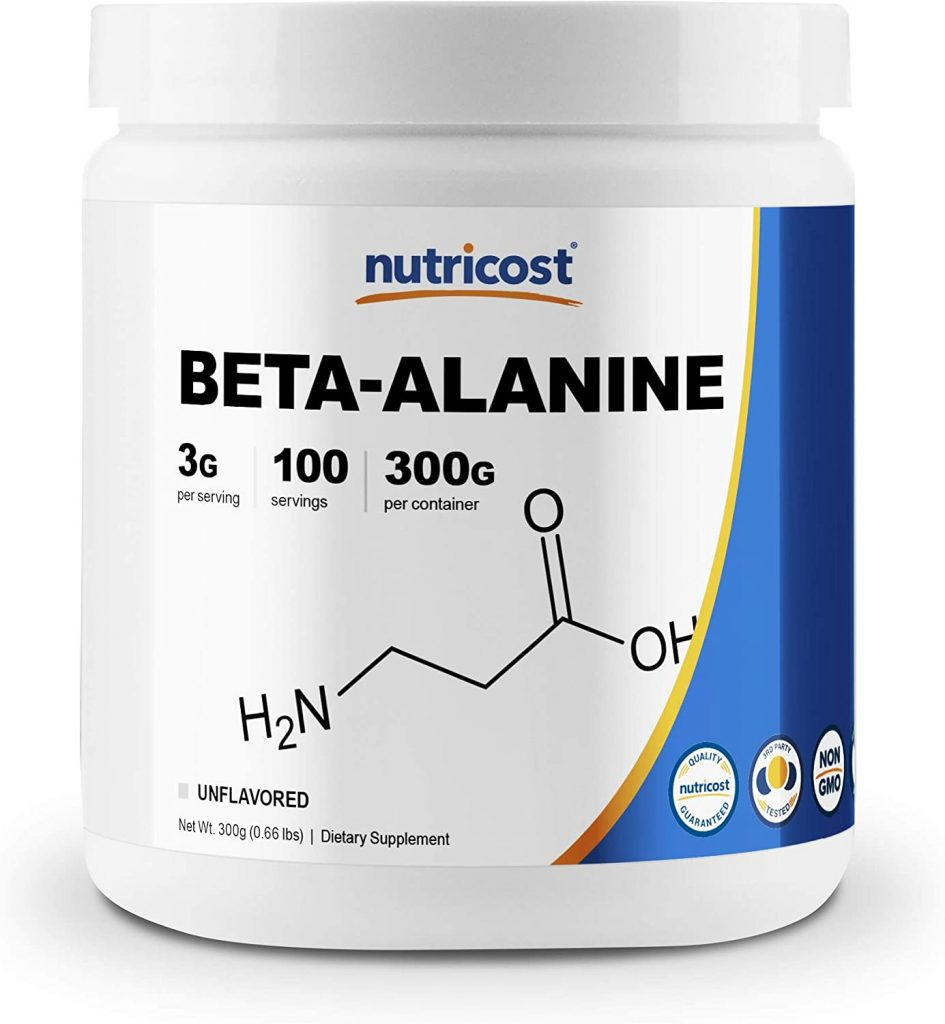 2. Nutricost Beta Alanine Powder