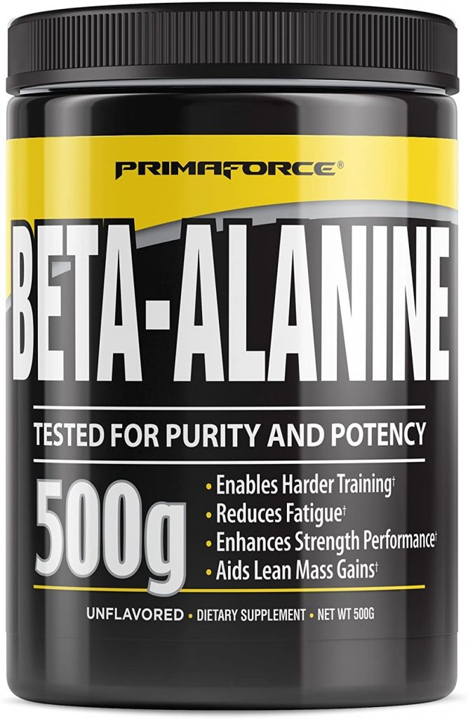 9. PrimaForce Beta Alanine Powder Supplement
