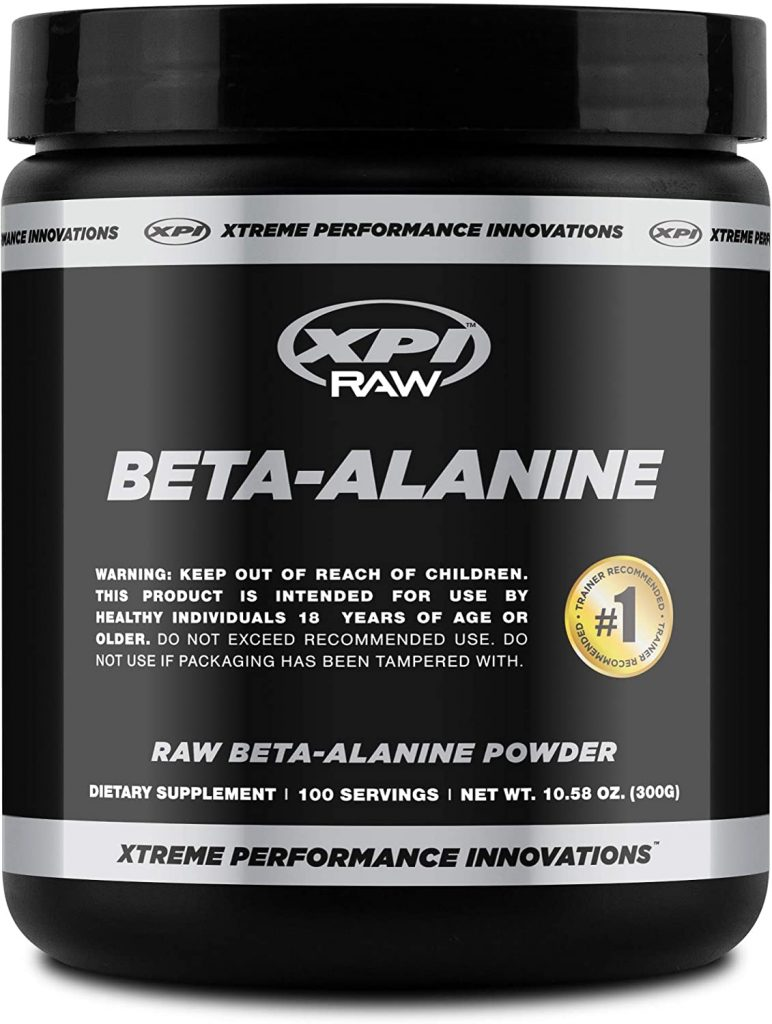 10. XPI Raw Beta Alanine Powder