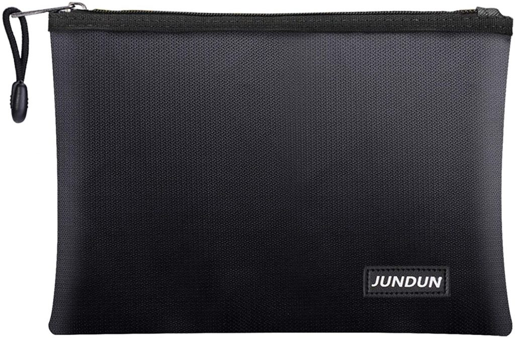 1. JUNDUN Fireproof Document Bag