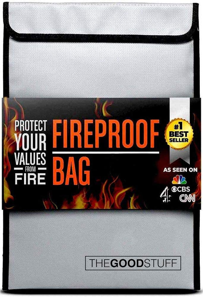 4. The Good Stuff Fireproof Document Bag