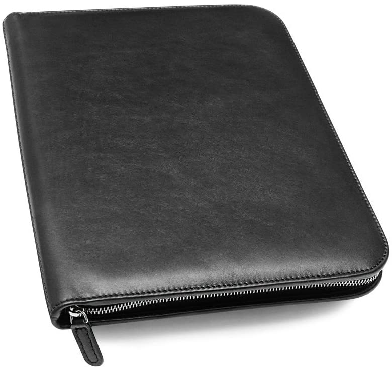 <strong>7. Maruse Personalized Italian Leather Executive Padfolio</strong>