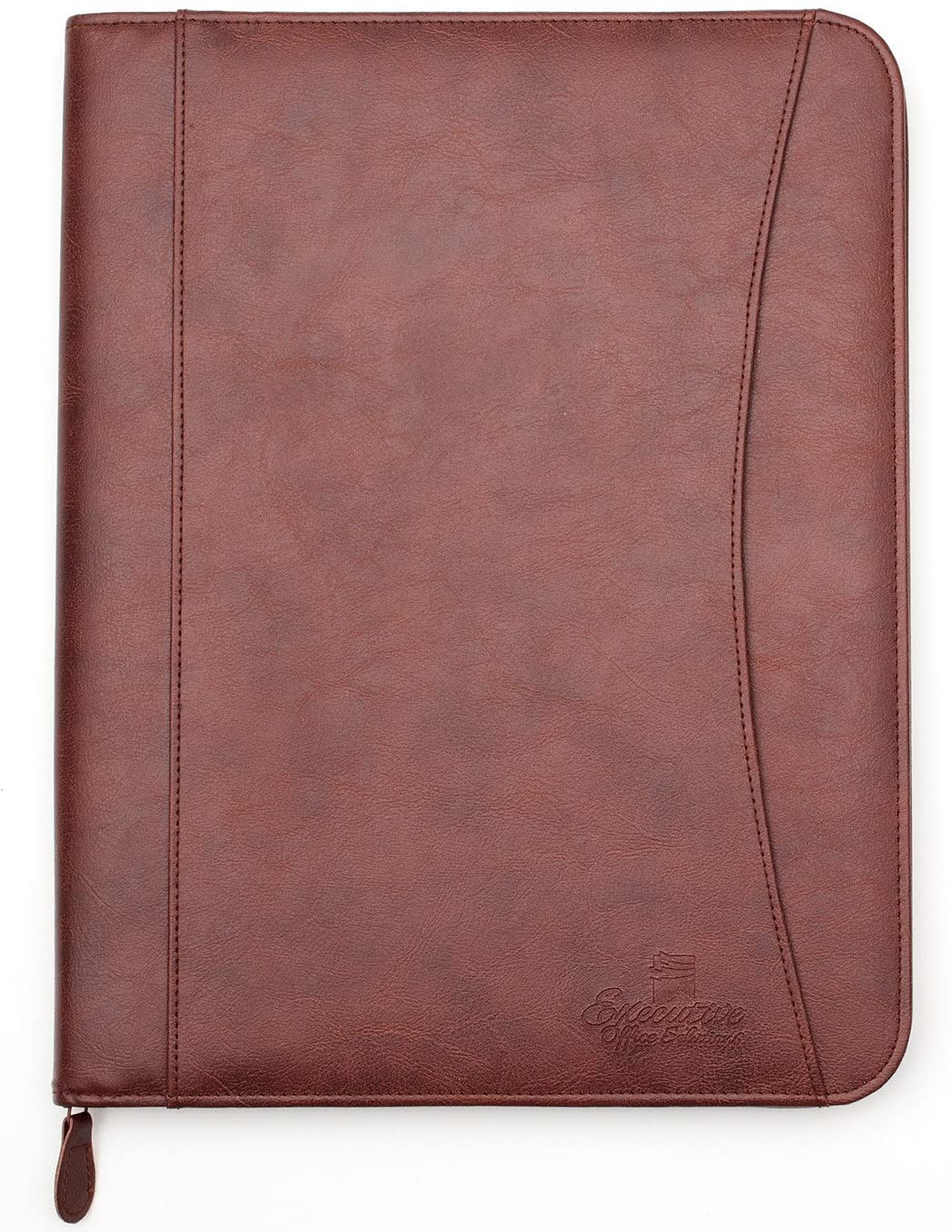 <strong>10. Professional Executive PU Leather Business Resume Portfolio</strong>